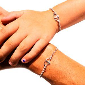Moeder dochter armband