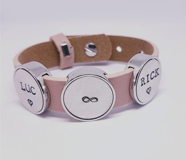 Trendy slider armband